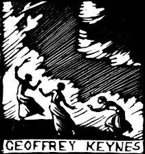 Bookplate for Sir Geoffrey Keynes (Giclée only)